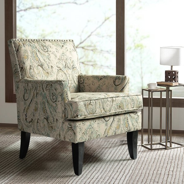 Robin Track Arm Club Chair Pertaining To Bethine Polyester Armchairs (set Of 2) (View 14 of 20)