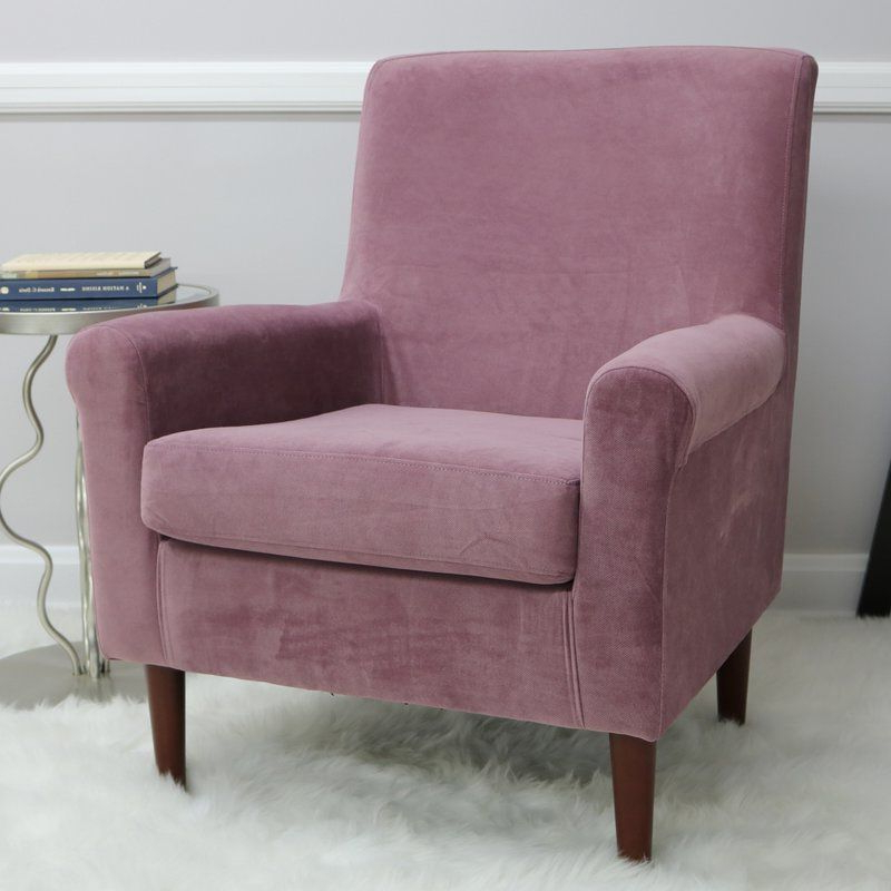 """Ronald 28"""" W Polyester Blend Armchair   Armchair, Classic Inside Ronald Polyester Blend Armchairs (View 5 of 20)"""