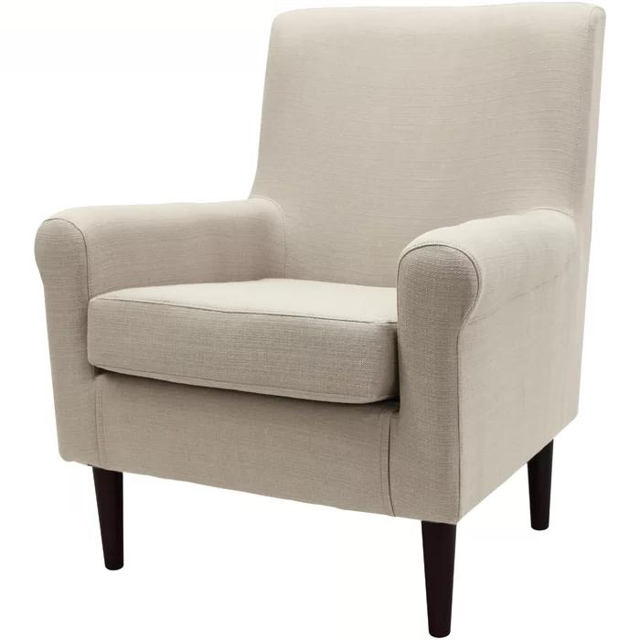 "Ronald 28"" W Polyester Blend Armchair   Armchair, Classic With Ronald Polyester Blend Armchairs (View 3 of 20)"