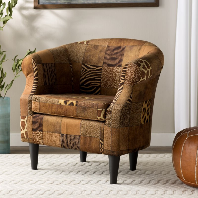 Ronda Barrel Chair Within Ronda Barrel Chairs (View 2 of 20)