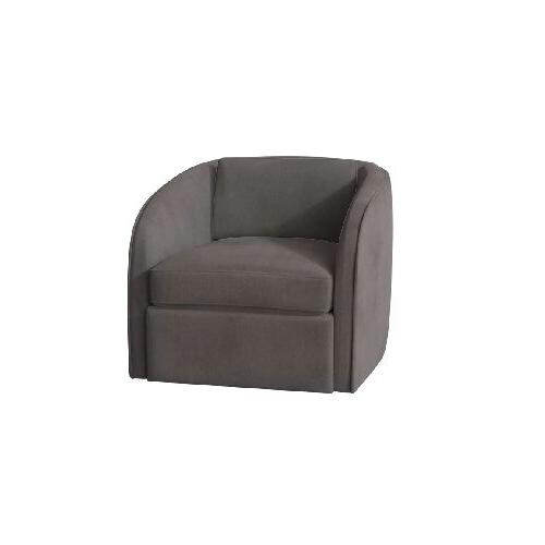 Savvy Favorites: Swivel Accent Chairs For A Modern Living Within Indianola Modern Barrel Chairs (View 14 of 20)