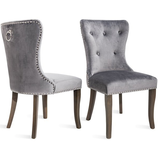 Set Of 2 Accent Chairs Regarding Alush Accent Slipper Chairs (set Of 2) (View 11 of 20)
