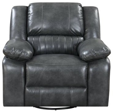 Sherrod Manual Swivel Glider Recliner With Ansby Barrel Chairs (View 9 of 20)