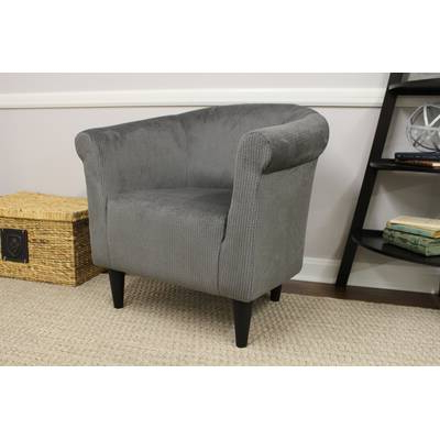 Shuman Wingback Chair & Reviews | Joss & Main For Giguere Barrel Chairs (View 10 of 20)