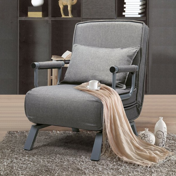 Single Sofa Chair With Artressia Barrel Chairs (View 18 of 20)