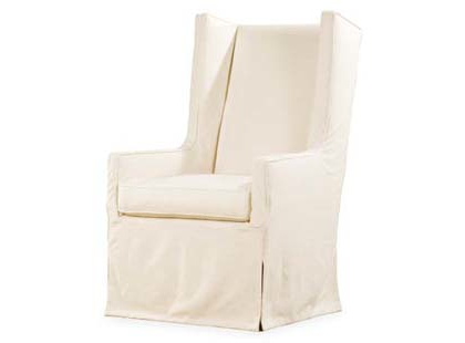 Slipcover Host Dining Chair – Luxury Designer Linen Chairs Inside Chiles Linen Side Chairs (View 18 of 20)