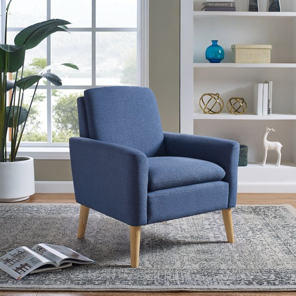 Sofa Armchair Throughout Biggerstaff Polyester Blend Armchairs (View 8 of 20)