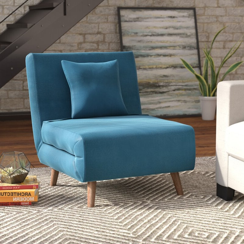 Space Saving Chairs That Turn Into Beds | Popsugar Home In Longoria Convertible Chairs (View 15 of 20)