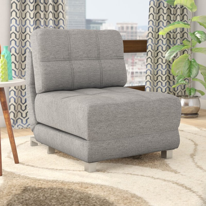 Space Saving Chairs That Turn Into Beds | Popsugar Home Pertaining To Longoria Convertible Chairs (View 19 of 20)