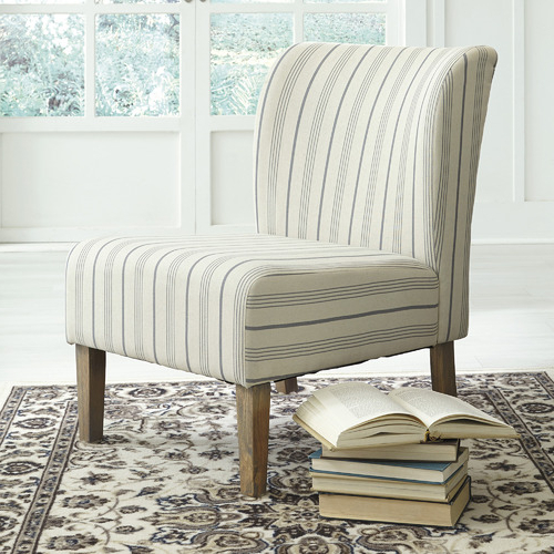 Striped Caldwell Accent Chair Throughout Caldwell Armchairs (View 8 of 20)