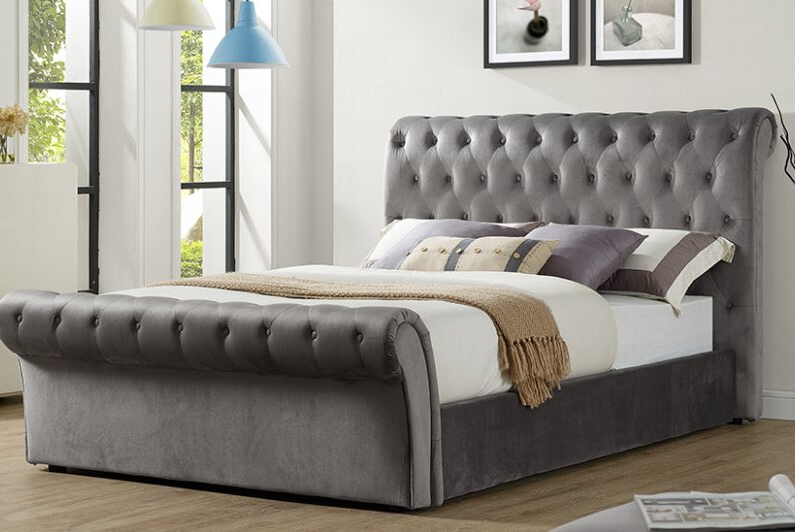 Suki Upholstered Ottoman Bed Intended For Suki Armchairs By Canora Grey (View 2 of 20)