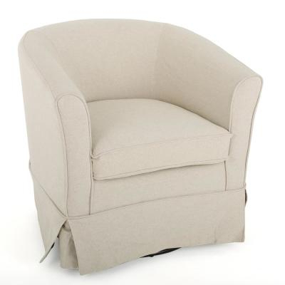 Swivel – Chairs – Living Room Furniture – The Home Depot Inside Molinari Swivel Barrel Chairs (View 17 of 20)