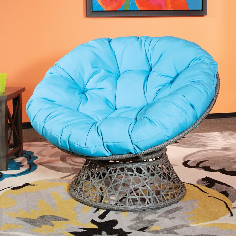 Swivel Papasan Chair Intended For Campton Papasan Chairs (View 16 of 20)