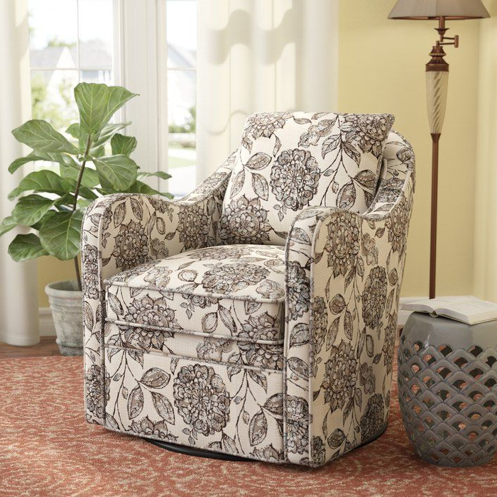 Three Posts Loftus Swivel Armchair & Reviews | Wayfair Regarding Loftus Swivel Armchairs (View 6 of 20)