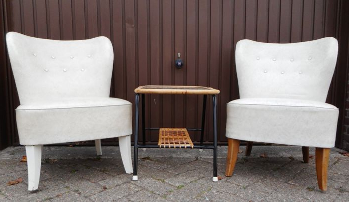 Tijsseling Nijkerk – Armchair – Set Of 2 – Catawiki Within Helder Armchairs (View 19 of 20)