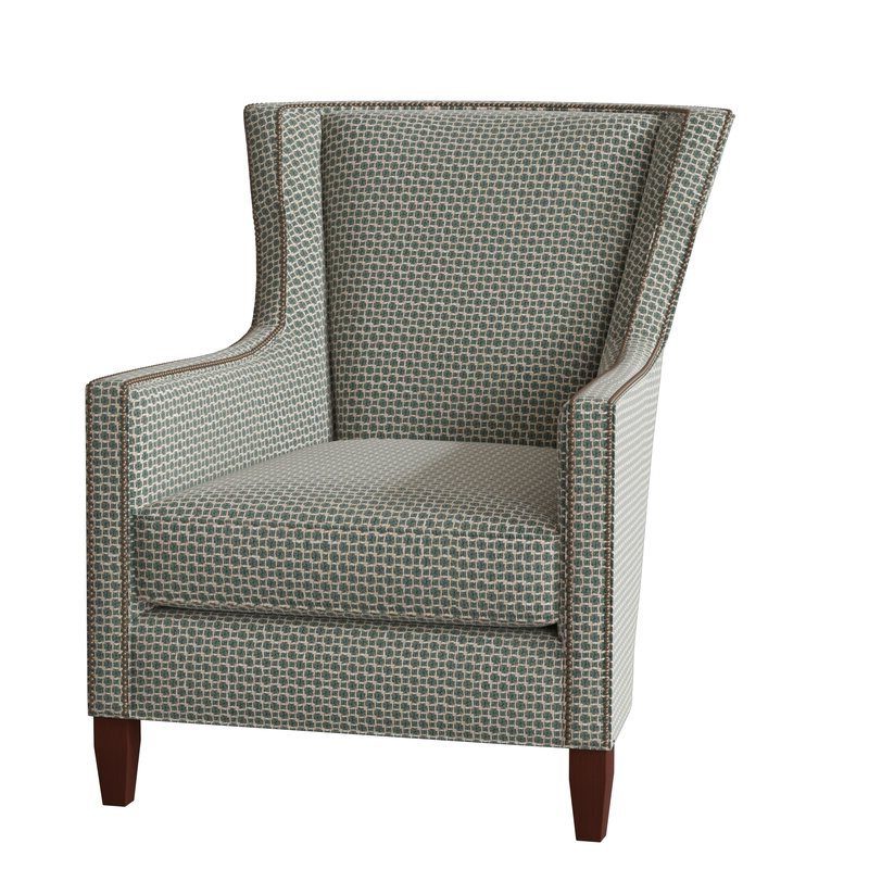 Verbena Wingback Chair Regarding Sweetwater Wingback Chairs (View 8 of 20)