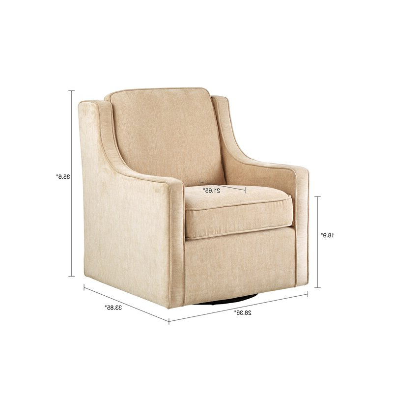 Vineland Swivel Armchair In Vineland Polyester Swivel Armchairs (View 8 of 20)