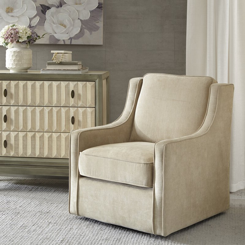 Vineland Swivel Armchair Intended For Vineland Polyester Swivel Armchairs (View 5 of 20)