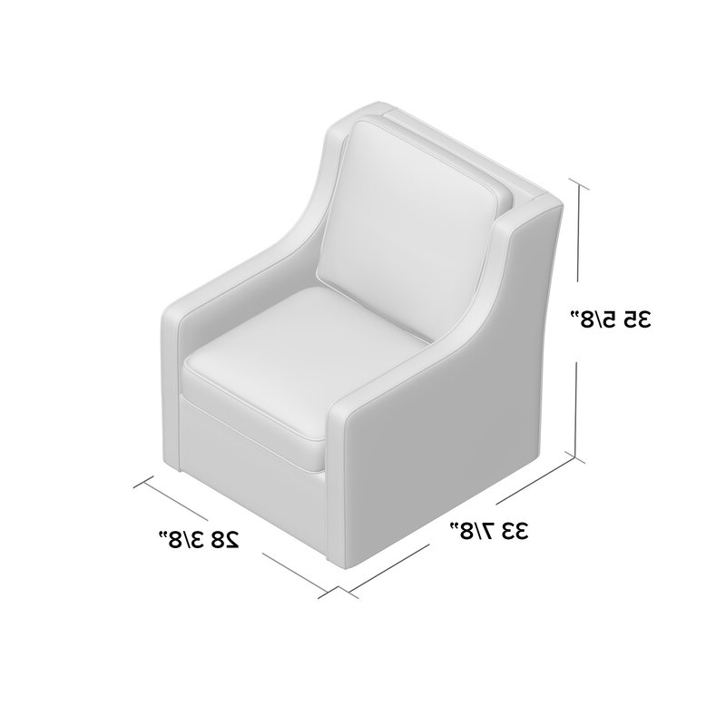 Vineland Swivel Armchair With Regard To Vineland Polyester Swivel Armchairs (View 6 of 20)