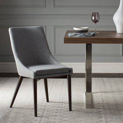 Wade Logan Bergevin Parsons Chair (set Of 2) | Upholstered With Aaliyah Parsons Chairs (View 18 of 20)
