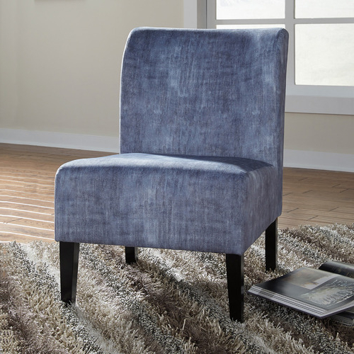 Washed Denim Caldwell Accent Chair With Caldwell Armchairs (View 10 of 20)