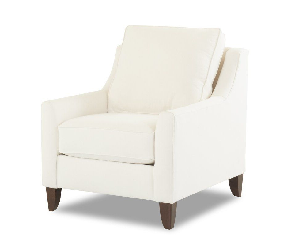 Wayfair Custom Upholstery™ Haleigh Armchair | Wayfair In Pertaining To Haleigh Armchairs (View 6 of 20)