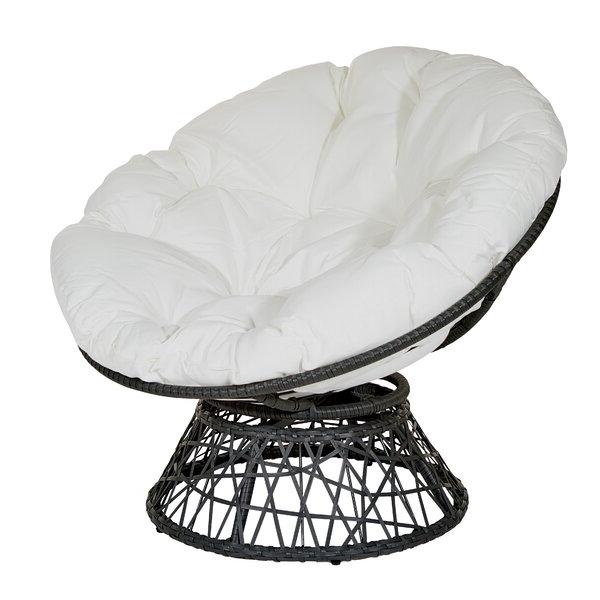 White Papasan Chair Pertaining To Rosati Mongolian Fur Papasan Chairs (View 11 of 20)