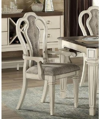 White Tufted Chair | Shop The World's Largest Collection Of Regarding Autenberg Armchairs (View 17 of 20)