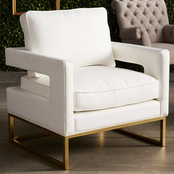 Willa Arlo Interiors Aloisio Armchair & Reviews | Wayfair For Lakeville Armchairs (View 20 of 20)