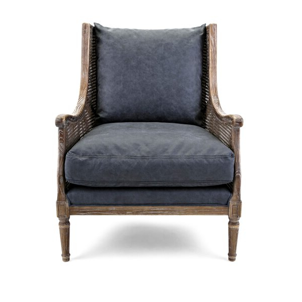 Willis Wingback Chair With Regard To Marisa Faux Leather Wingback Chairs (View 19 of 20)