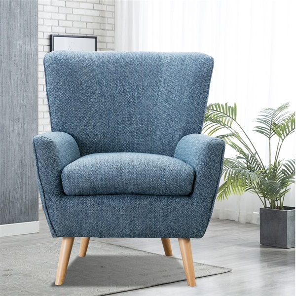 Wingback Chair Intended For Biggerstaff Polyester Blend Armchairs (View 19 of 20)