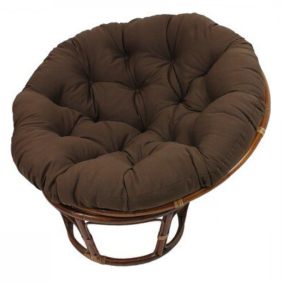 """World Menagerie Orndorff 44"""" Tufted Papasan Chair Fabric With Regard To Orndorff Tufted Papasan Chairs (View 6 of 20)"""