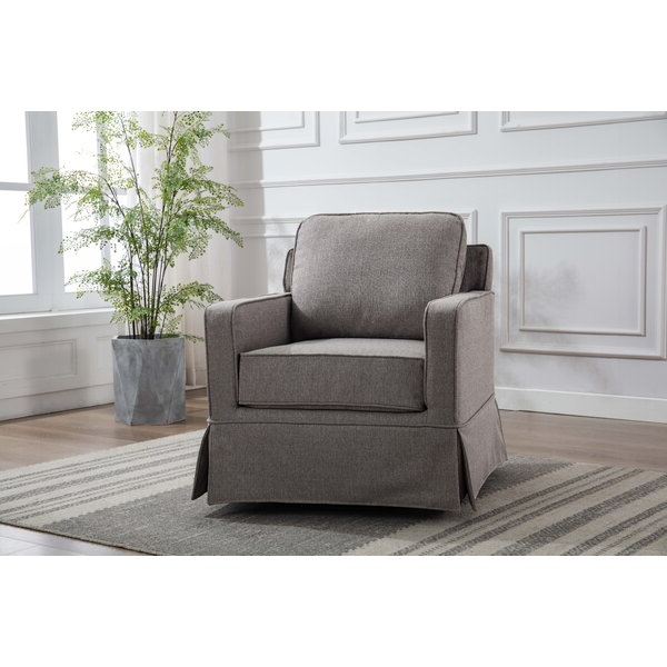 Zalina Swivel Armchair For Vineland Polyester Swivel Armchairs (View 12 of 20)
