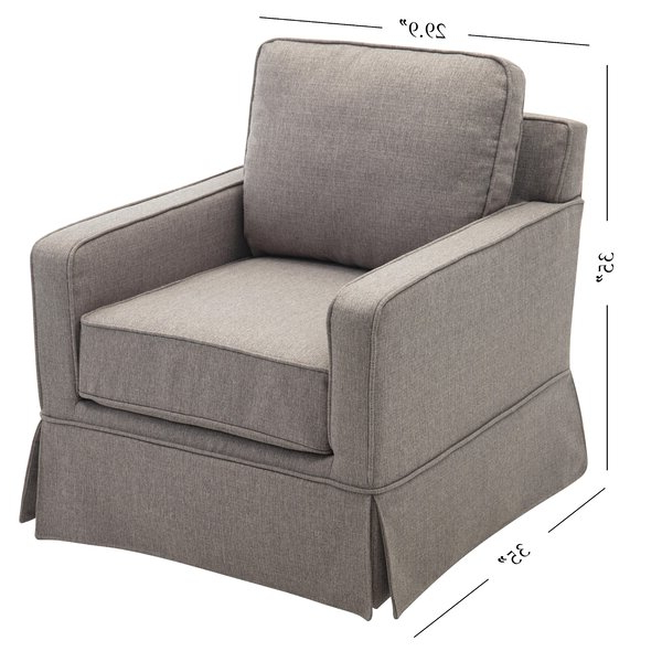 Zalina Swivel Armchair Pertaining To Zalina Swivel Armchairs (View 2 of 20)