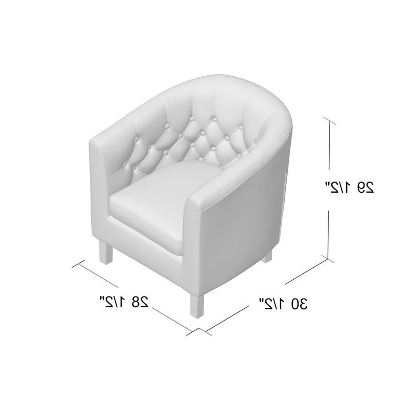 Ziaa Barrel Chair In 2020   Barrel Chair, Chair, Accent Chairs Pertaining To Ziaa Barrel Chairs (View 8 of 20)