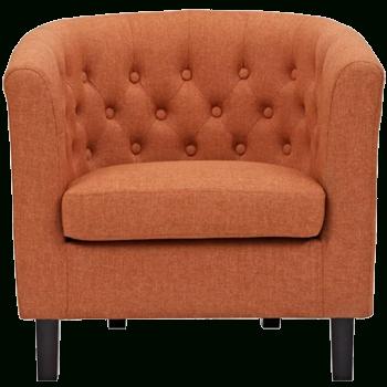Ziaa Barrel Chair   Orange   Decorist In Ziaa Barrel Chairs (View 13 of 20)