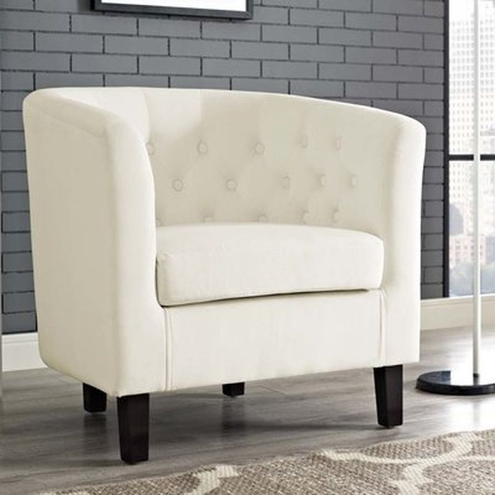 Ziaa Barrel Chair – Wayfair Inside Filton Barrel Chairs (View 13 of 20)