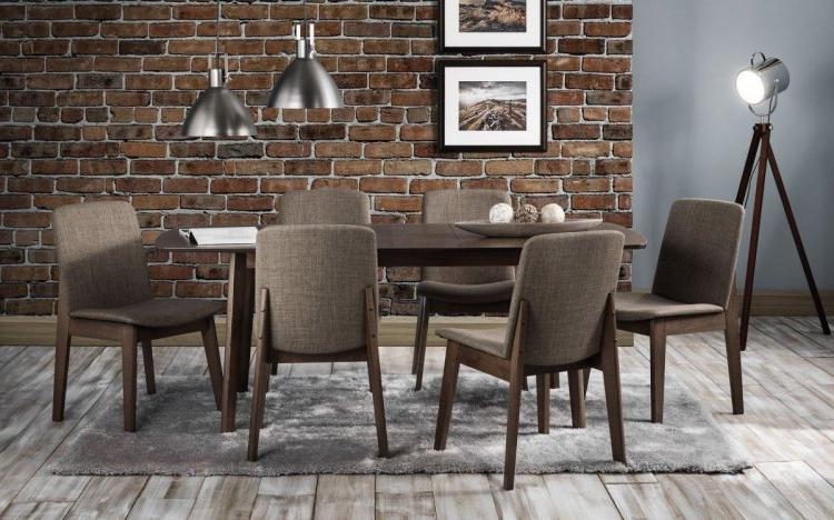 2019 Kensington Extending Beech Dining Set – 6 Chairs Regarding Zeus (View 18 of 20)
