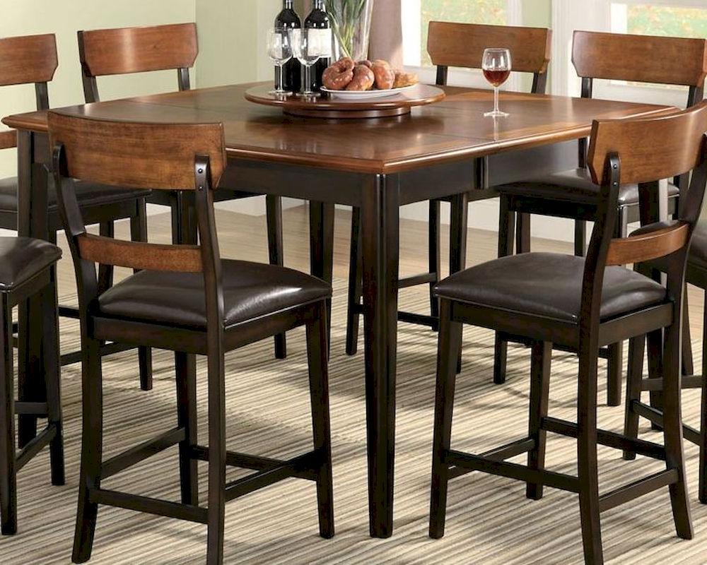 2020 Dallin Bar Height Dining Tables Inside Coaster Counter Height Dining Table Franklin Co (View 7 of 20)