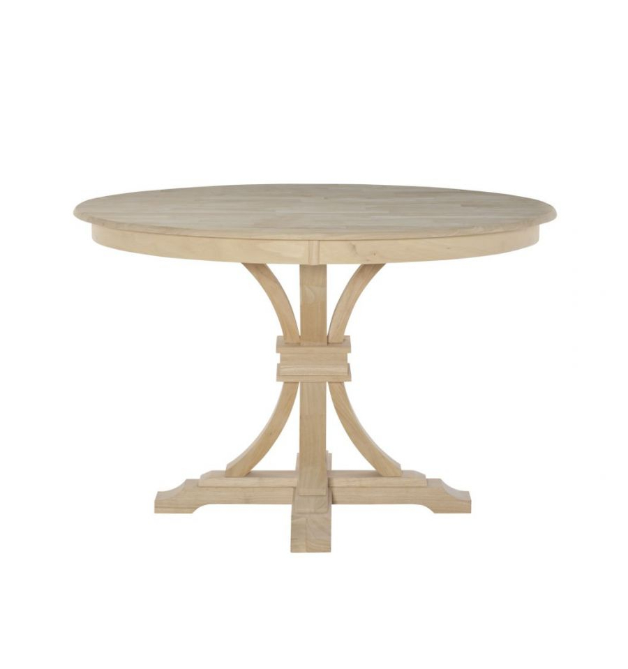 [%[48 Inch] Paige Flared Pedestal Dining Table – Wood'n Intended For 2019 Exeter 48'' Pedestal Dining Tables|exeter 48'' Pedestal Dining Tables Within 2020 [48 Inch] Paige Flared Pedestal Dining Table – Wood'n|most Current Exeter 48'' Pedestal Dining Tables With [48 Inch] Paige Flared Pedestal Dining Table – Wood'n|recent [48 Inch] Paige Flared Pedestal Dining Table – Wood'n Regarding Exeter 48'' Pedestal Dining Tables%] (View 3 of 20)