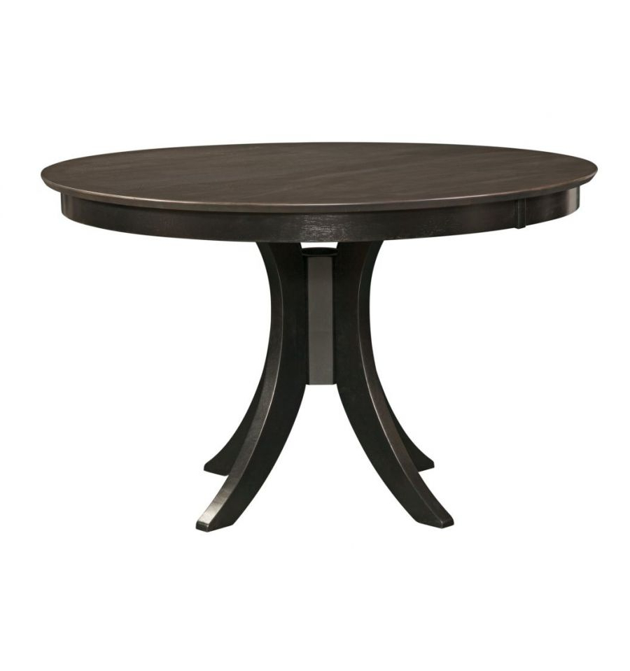 [%[48 Inch] Sienna Round Dining Table With Pedestal Base With Famous Exeter 48'' Pedestal Dining Tables|exeter 48'' Pedestal Dining Tables In 2019 [48 Inch] Sienna Round Dining Table With Pedestal Base|widely Used Exeter 48'' Pedestal Dining Tables Pertaining To [48 Inch] Sienna Round Dining Table With Pedestal Base|recent [48 Inch] Sienna Round Dining Table With Pedestal Base In Exeter 48'' Pedestal Dining Tables%] (View 5 of 20)