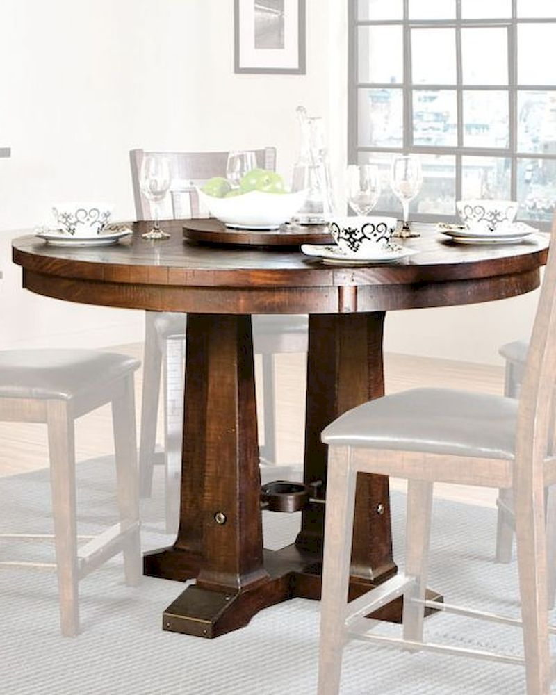 Best And Newest Dallin Bar Height Dining Tables With Regard To Intercon Solid Pine Counter Height Dining Table Hayden (View 2 of 20)