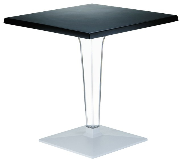 """Compamia Ice Square Dining Table, 23.6"""" – Contemporary Within Recent Crilly (View 3 of 20)"""