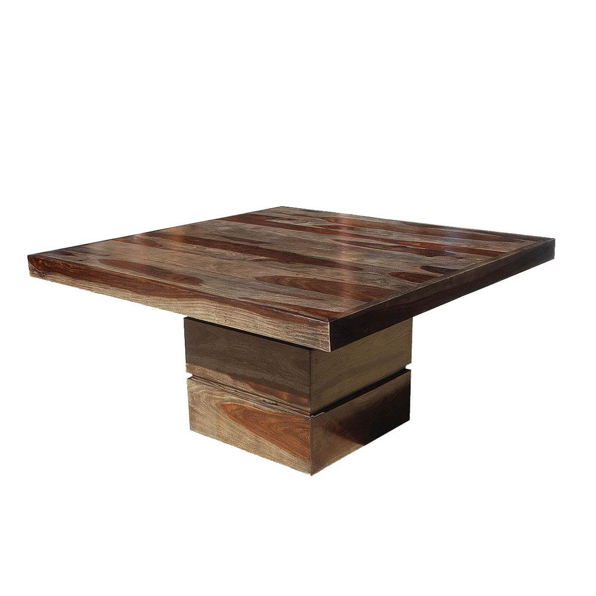 """Dallas Modern Solid Wood 48"""" Square Pedestal Dining Table Throughout 2019 Tabor 48'' Pedestal Dining Tables (View 17 of 20)"""