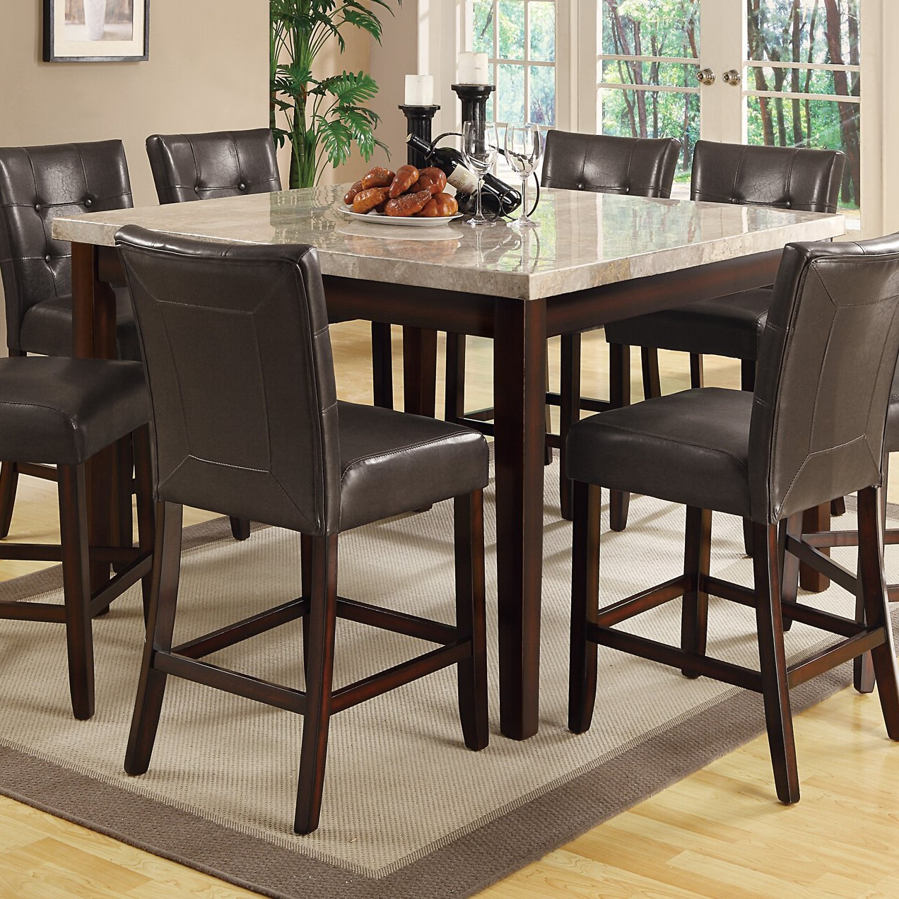 Dallin Bar Height Dining Tables In Current Alcott Hill Laurence Counter Height Dining Table & Reviews (View 10 of 20)