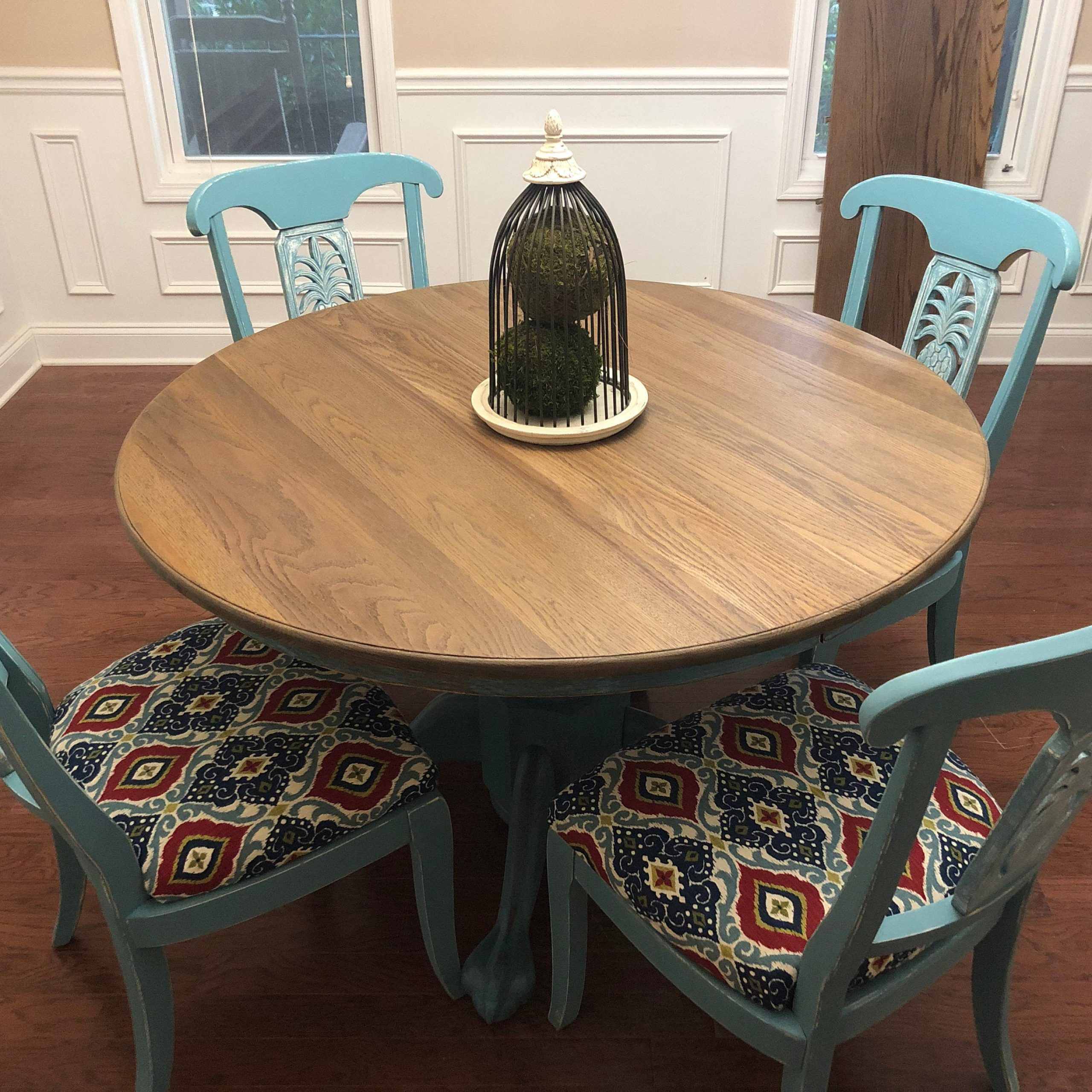 Etsy Inside Widely Used Tabor 48'' Pedestal Dining Tables (View 20 of 20)