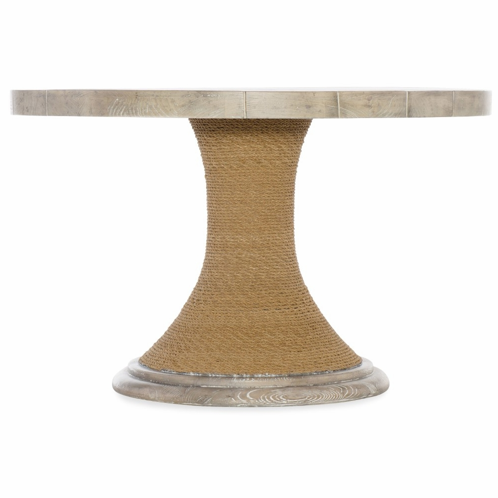 Famous Corvena 48'' Pedestal Dining Tables Within Hooker Furniture – Amani 48in Round Pedestal Dining Table (View 18 of 20)