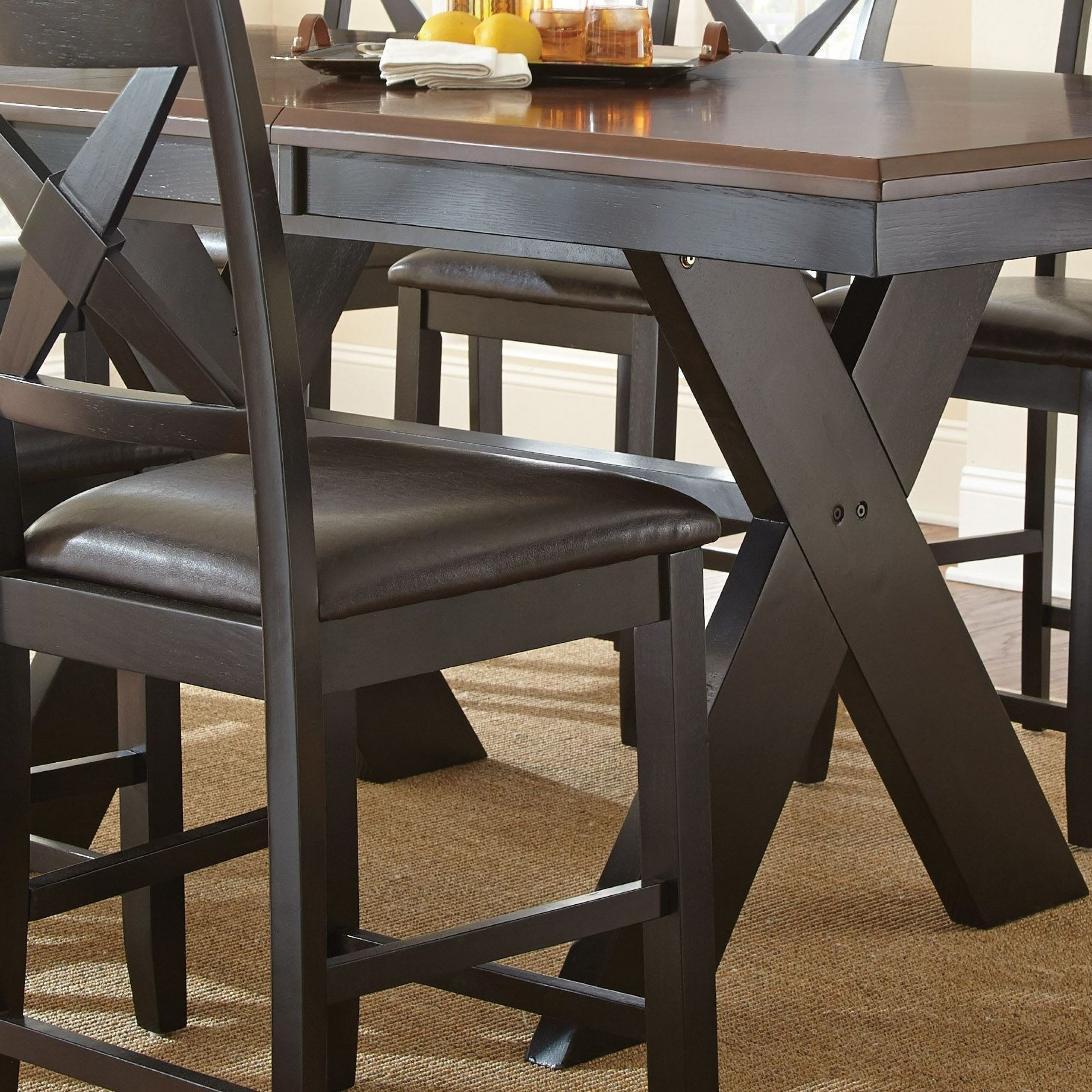 Favorite Violante Extendable Rectangular Counter Height Dining With Regard To Desloge Counter Height Trestle Dining Tables (View 7 of 20)