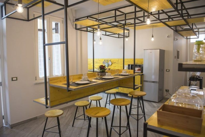 """Hip Bed And Breadfast Designedarchimed Progettazioni With Regard To Well Known Dionara 56"""" L Breakroom Tables (View 17 of 20)"""