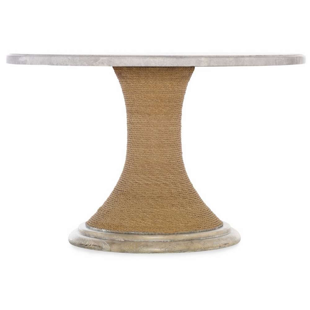 Hooker Furniture – Amani 48in Round Pedestal Dining Table Intended For Popular Exeter 48'' Pedestal Dining Tables (View 18 of 20)